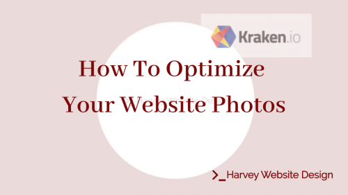 How to optimize your website photos