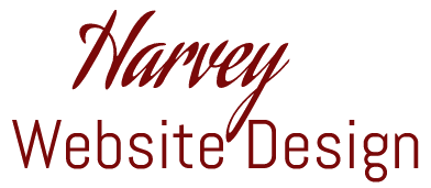harvey website design logo